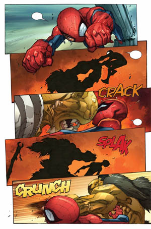 Avenging Spider-Man Volume 1 issue #3 page 11 (Color)