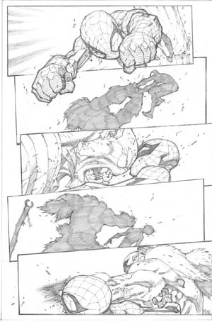 Avenging Spider-Man Volume 1 issue #3 page 11 (Pencil)