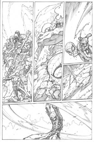 Avenging Spider-Man Volume 1 issue #3 page 12 (Pencil)