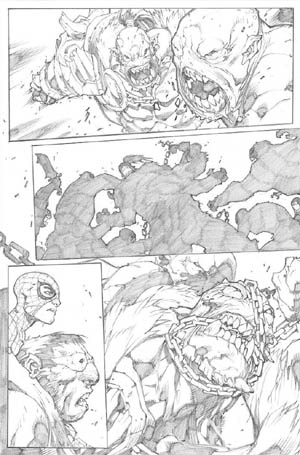 Avenging Spider-Man Volume 1 issue #3 page 15 (Pencil)