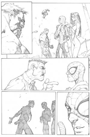 Avenging Spider-Man Volume 1 issue #3 page 20 (Pencil)