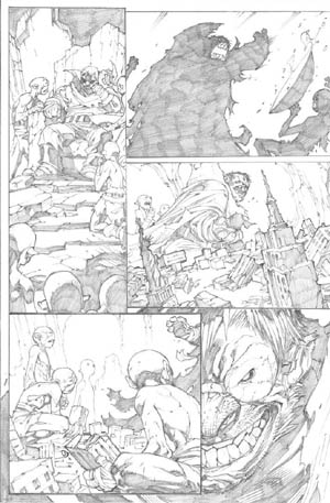 Avenging Spider-Man Volume 1 issue #3 page 21 (Pencil)