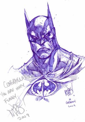 Batman Comic Action convention sketch (Sketch)