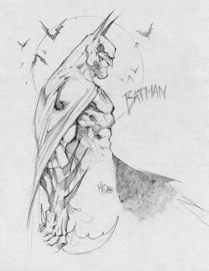 Batman sketch gift for Tim Townsend