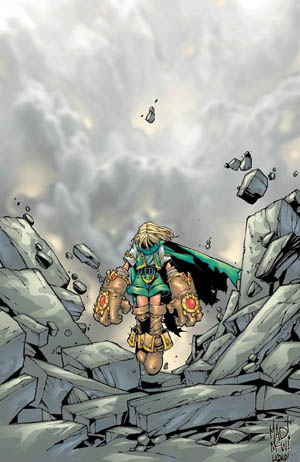 Battle Chasers A gathering of heroes cover (Color)