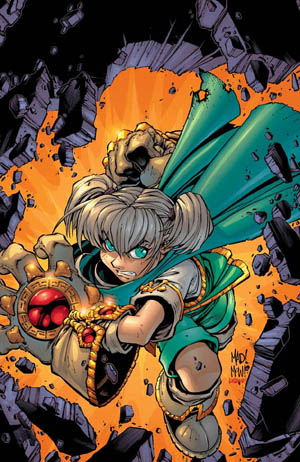 Battle Chasers #4A cover