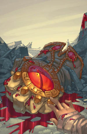 Battle Chasers #8 cover (Color)