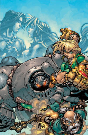 Battle Chasers #9 cover (Color)