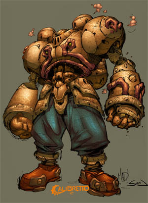Battle Chasers Calibretto sketch (Color)