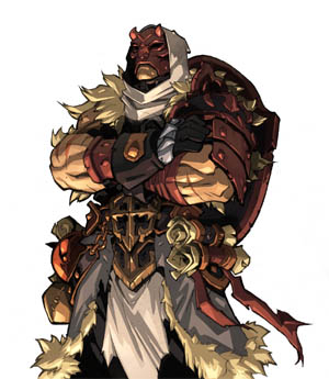 Battle Chasers Nightwar in-game Alumon Portrait (Color)