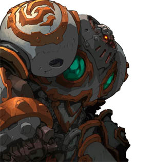 Battle Chasers Nightwar in-game Calibretto Portrait (Color)