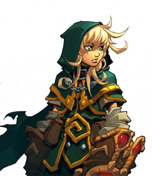 Battle Chasers Nightwar in-game Gully Portrait (Color)