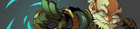 Battle Chasers NightWar Knolan in game burst art