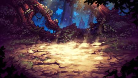 Battle Chasers Nightwar background test render