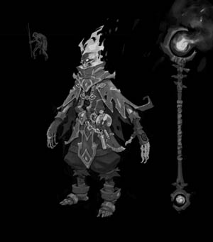 Battle Chasers Nightwar game (Texture)