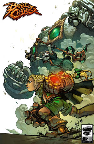 NYCC 2013 Battle Chasers print #2 (Color)