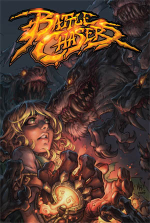 Battle Chasers Anthology comic cover (Color)