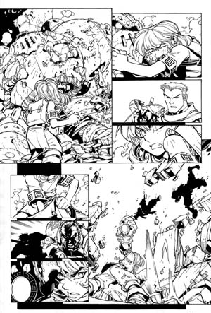 Battle Chasers comic #5 page 7