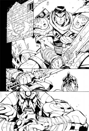 Battle Chasers comic #5 page 13 (Ink)