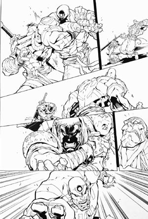 Battle Chasers comic #5 page 15 (Ink)