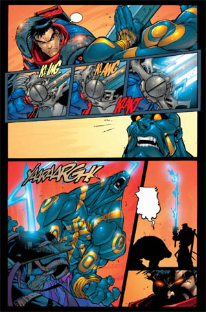 Battle Chasers comic #5 page 18 (Color)