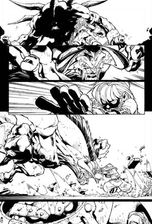 Battle Chasers comic #5 page 19