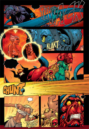Battle Chasers comic #5 page 20 (Color)