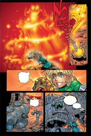 Battle Chasers comic #5 page 21 (Color)