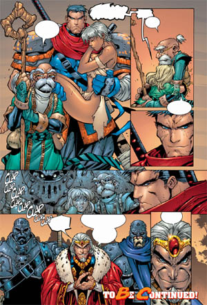 Battle Chasers comic #5 page 22 (Color)
