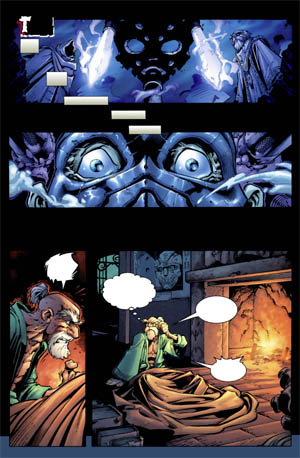 Battle Chasers comic #1 page 1 (Color)