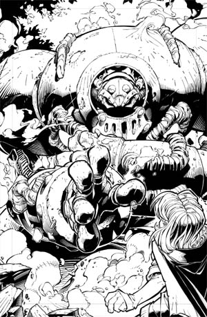Battle Chasers comic #1 page 11 (Ink)