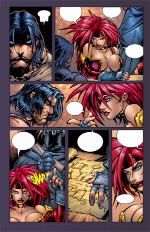 Battle Chasers comic #1 page 15