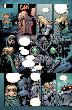 Battle Chasers comic #1 page 17 (Color)