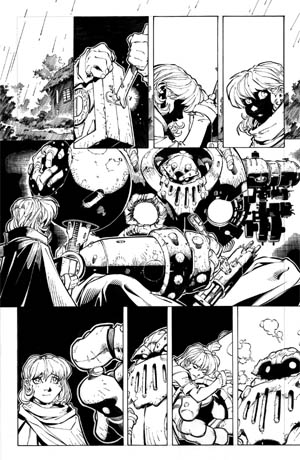 Battle Chasers comic #1 page 17 (Ink)