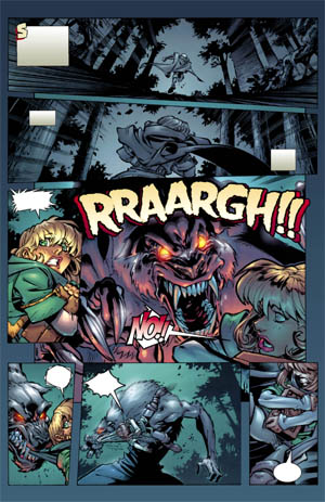 Battle Chasers comic #1 page 4