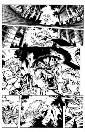Battle Chasers comic #1 page 4 (Ink)