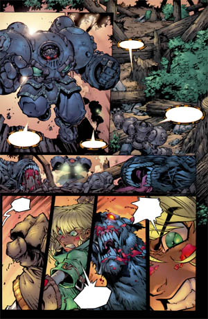Battle Chasers comic #2 page 12 (Color)