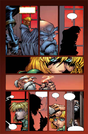 Battle Chasers comic #2 page 18 (Color)