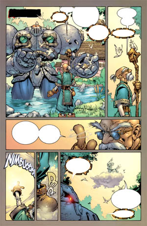 Battle Chasers comic #2 page 5 (Color)