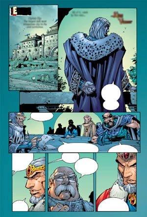 Battle Chasers comic #3 page 12 (Color)