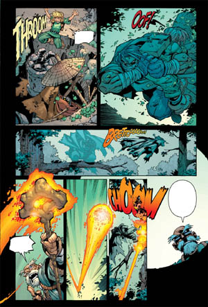 Battle Chasers comic #3 page 19 (Color)
