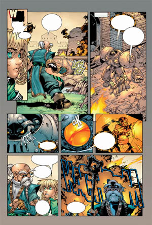 Battle Chasers comic #4 page 16 (Color)