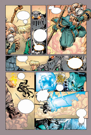 Battle Chasers comic #4 page 17 (Color)