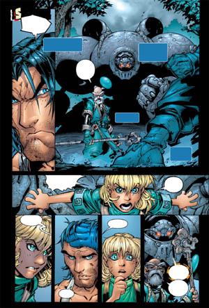 Battle Chasers comic #4 page 6 (Color)
