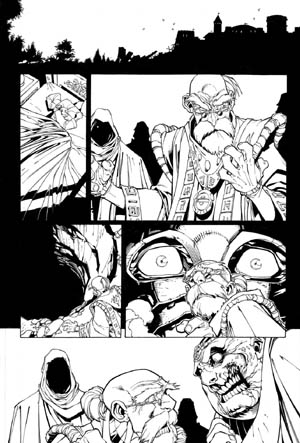 Battle Chasers comic #6 page 1
