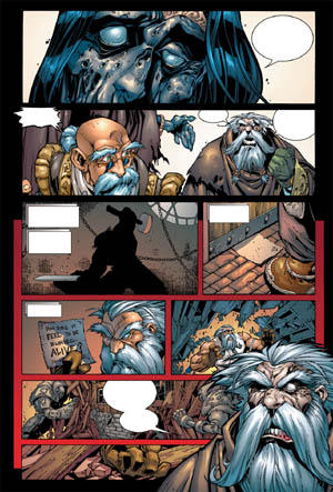 Battle Chasers comic #6 page 3 (Color)
