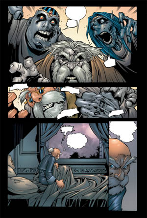 Battle Chasers comic #6 page 4 (Color)