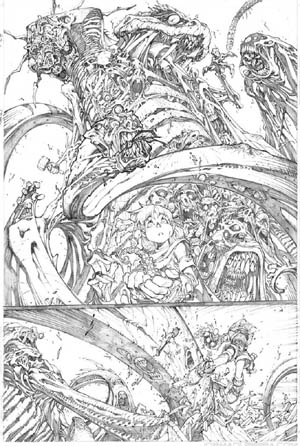 Battle Chasers comic #7 page 18 (Pencil)