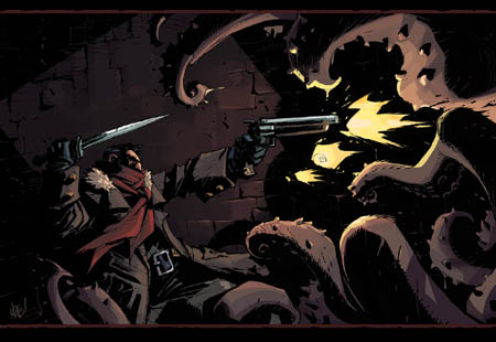Darkest Dungeon Highwayman fan art (Color)