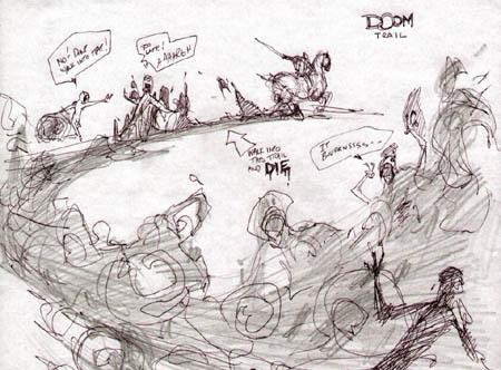 Darksiders: Ruin doomtrail concept art